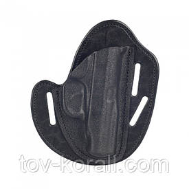 Кобура поясная бабочка для ПМ A-Line ПК3 пластик / кожа