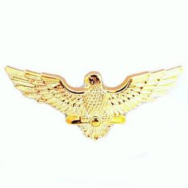 Эмблема ВВС на тулью (парадная, пластик)