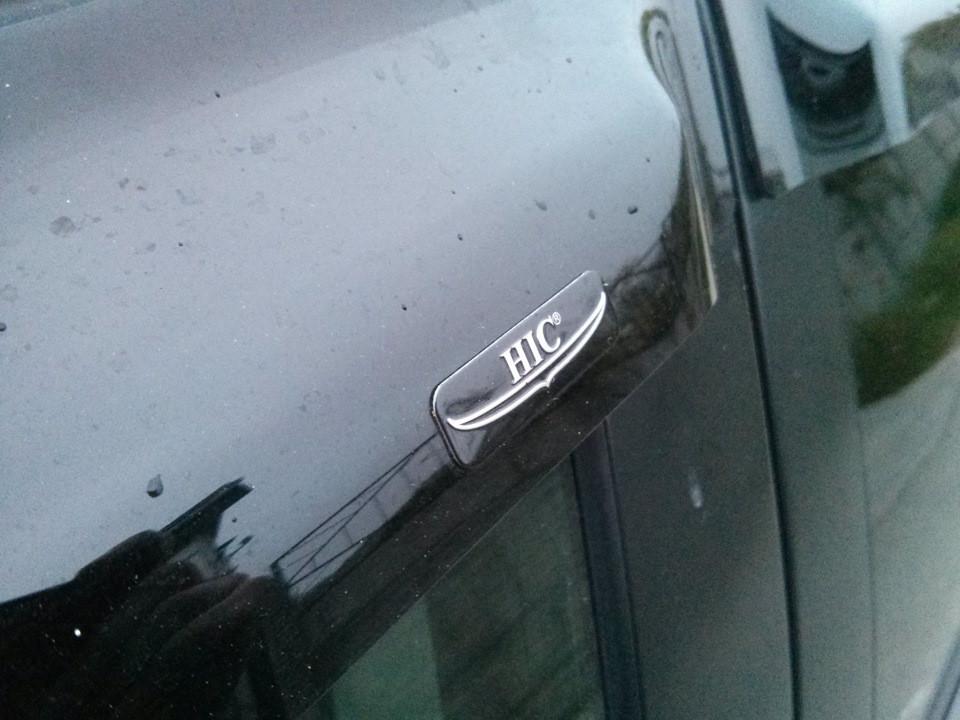 Ветровики Mazda 2 2007-2014 (HIC)