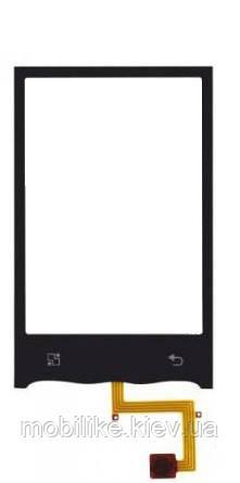 Сенсорний екран LG GT540 Optimus чорний