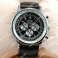 Часы мужские Breitling Silver/White-Black 205 механика с автоподзаводом