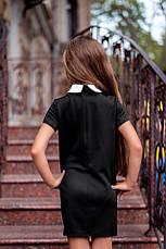 Школьное платье с коротким рукавом , фото 3