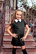 Школьное платье с коротким рукавом , фото 4