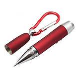 Шариковая ручка 3 в 1 - лазер+фонарик (лазерная указка), фото 3