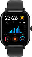 """Умные часы Xiaomi Amazfit GTS Active Fashion Black Global EU; 1.65"""" (442 х 348) AMOLED сенсорный / Bluetooth 5.0 / Wi-Fi, GPS, GLONASS / WR50 / 43.25"""