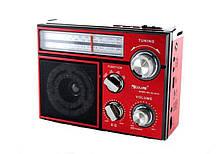 Акустическая система Golon радио FM радиоприемник колонка с USB выходом и фонариком (RX-552D)