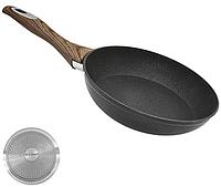"""Сковорода """"Wooden"""" індукційне дно 18см Stenson (10293)"""