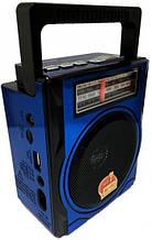 Радиоприемник RX 1435 аккумуляторный, переносное радио, FM радио MP3 с фонариком