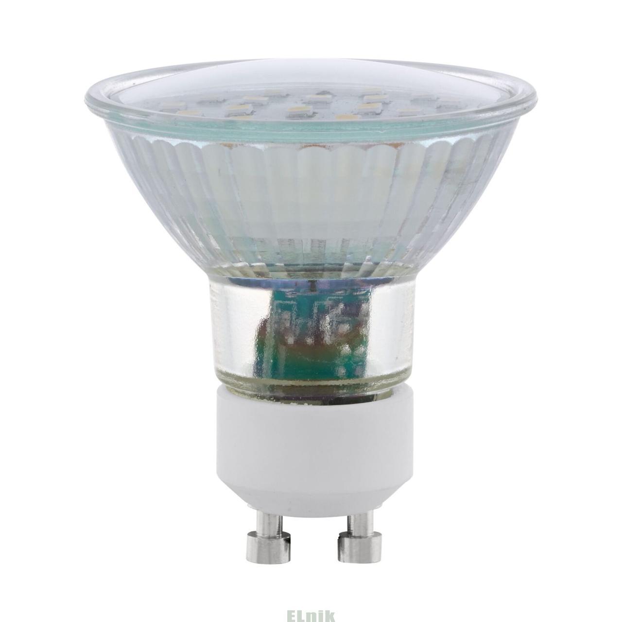 Лампа светодиодная LM LED GU10 4000K, Eglo [11536]