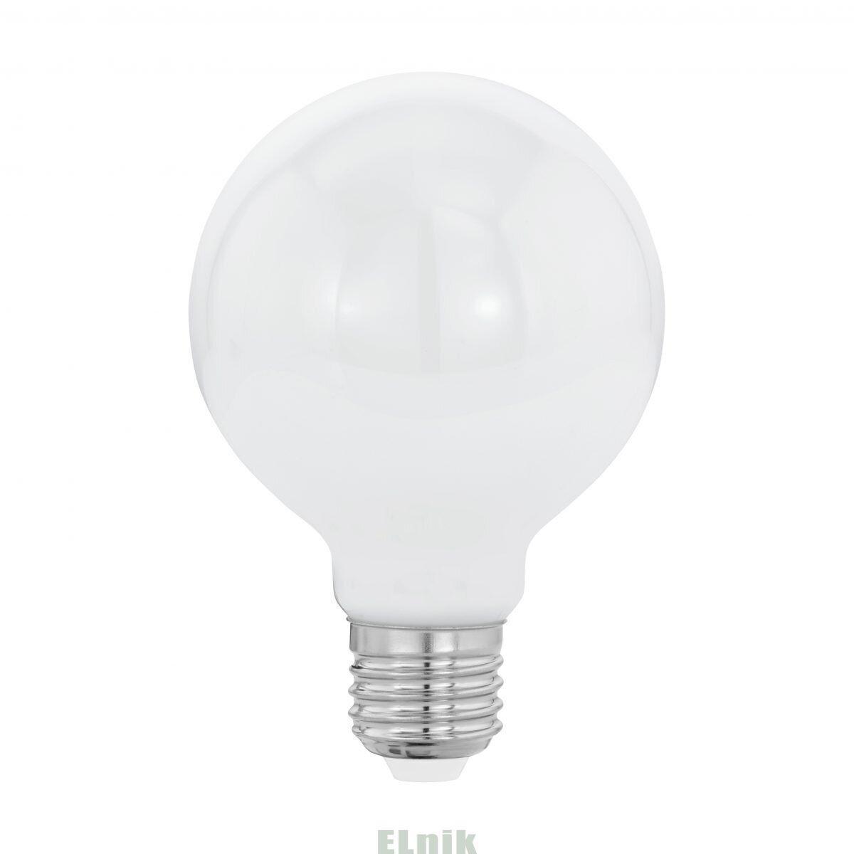 "Лампа светодиодная филаментная ""Милки"" опаловое стекло LM LED E27 G80 2700K, Eglo [11598]"
