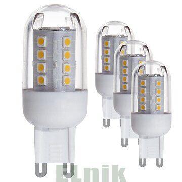 Светодиодная лампа LM-SET 4XLM-G9-LED 2,5W 200lm 3000K, Eglo [10069]