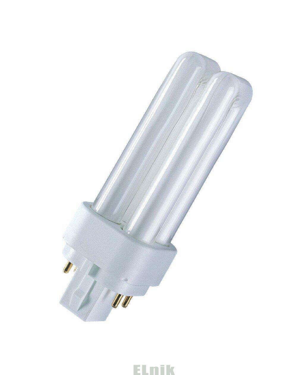 КЛЛ 26W/830 G24q-3 люминесцентная компактная лампа для ЭПРА DULUX D/E , ОСРАМ [4050300327235]