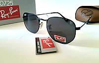 Черные Женские солнцезащитные очки  Ray Ban шестигранники, фото 1