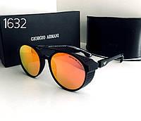 Стильные мужские очки ARMANI  красно- оранжевые зеркалки, фото 1