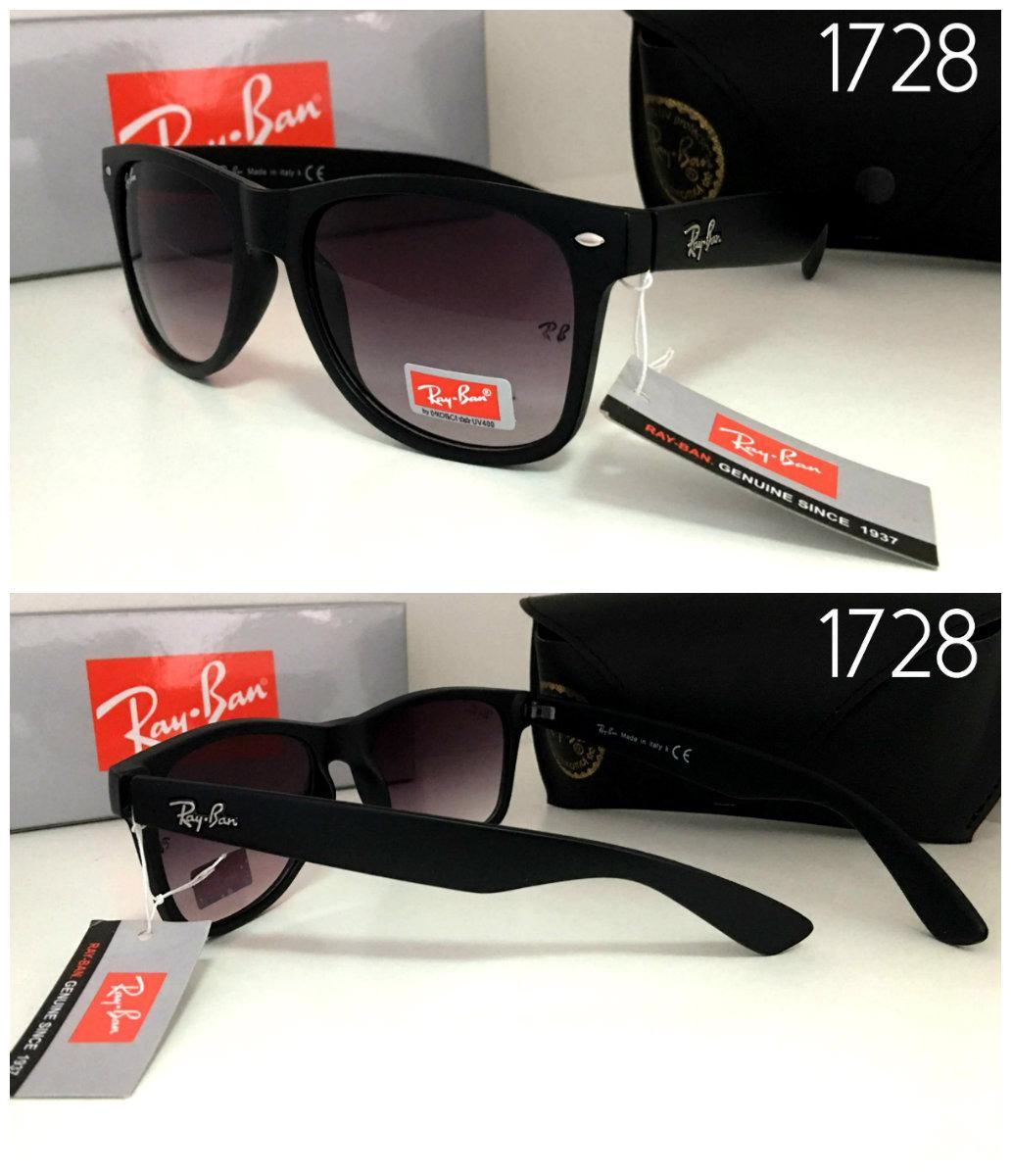 Новинка!  Черные солнцезащитные  женские очки  Ray Ban в черной матовой оправе