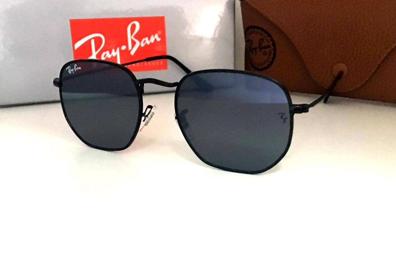 Cолнцезащитные женские очки  Ray Ban черные