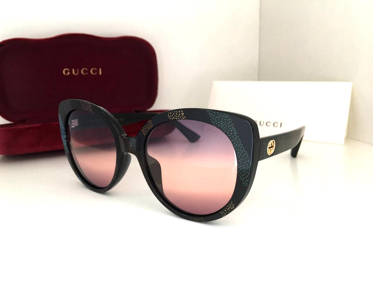 Очки женские солнцезащитные Guc*i с поляризованными линзами