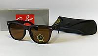 Шикарная моделька Ray ban коричневые в матовой оправе ( код 2140), фото 1