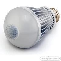 Лампа с датчиком движения 9 Вт