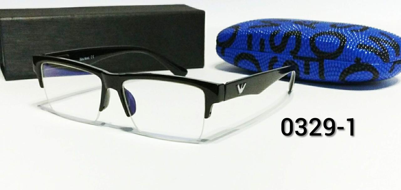 Компьютерные очки полуободковые