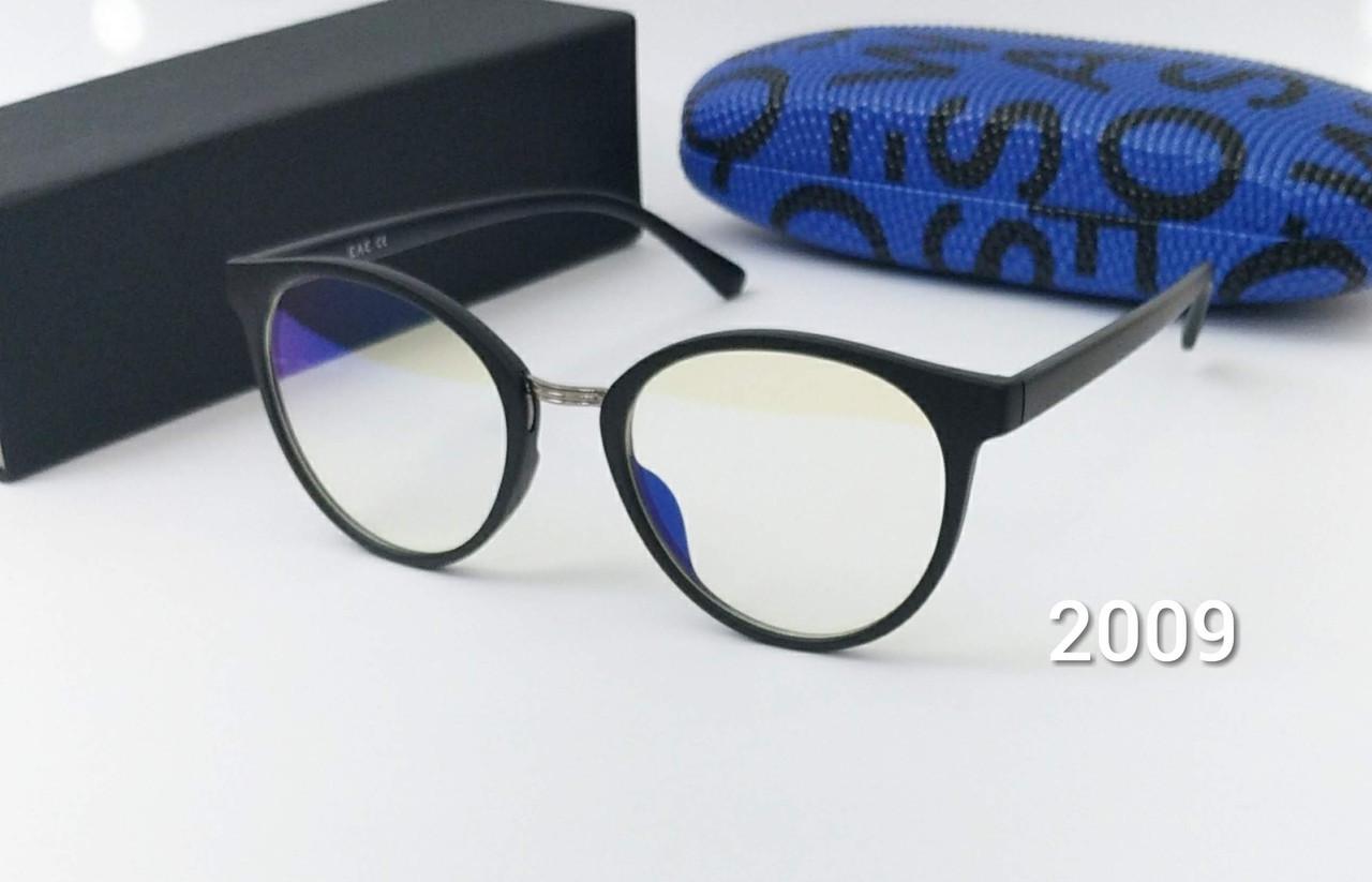 Круглые компьютерные очки в матовой оправе EAE 2144
