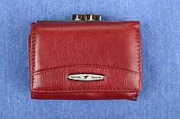 Женский кожаный кошелек Tailian бордовый 728RC, фото 1
