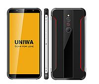 Защищенный спортивный смартфон UNIWA X5 - MTK6580, 1/16GB, 3100 mAh, Android 6.0