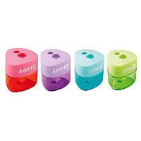 Точилка с контейнером Axent Pastel soft 1157-A, асорти цветов