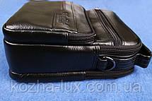 Мужская сумка из натуральной кожи модель B-3092, Италия, фото 2