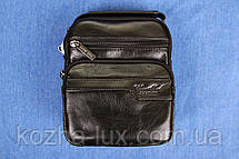 Мужская сумка из натуральной кожи модель B-3092, Италия, фото 3