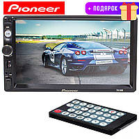 Магнитола 7 дюймов Pioneer 7010 B 2 DIN WinCE 45 Вт Экран 1024 x 600 + Подарок