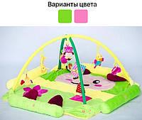 Детский развивающий игровой коврик 125х125 см для детей, фото 1