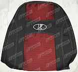 Авточехлы Lada 2112 (красный) Nika, фото 3