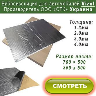 Виброизоляционные материалы Vizol Украина
