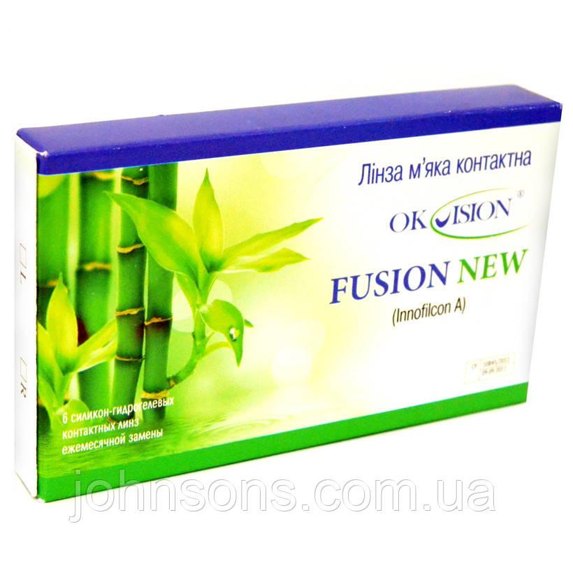 Контактные линзы Okvision Fusion New 1 шт