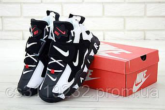 Мужские кроссовки Nike Air Max Barrage (черно-белые)