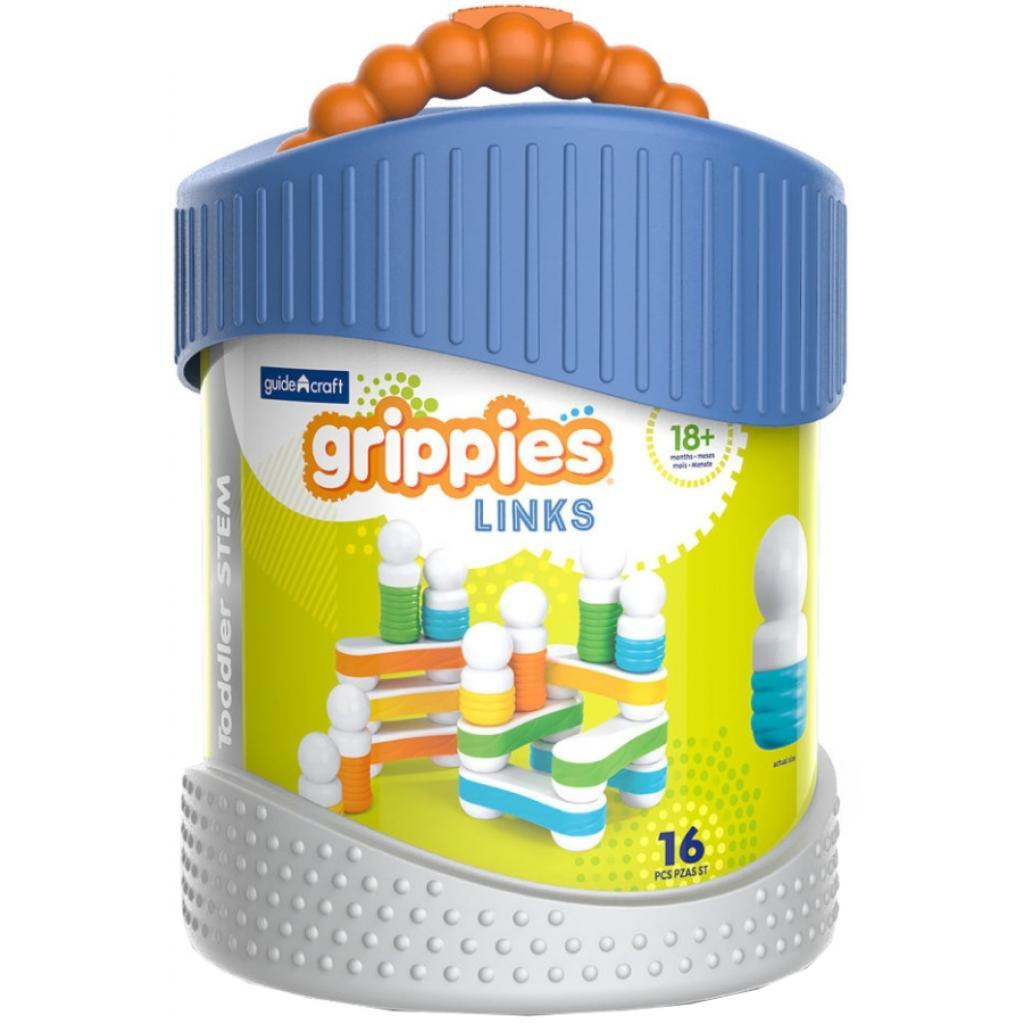 Конструктор Guidecraft Grippies Links, 16 деталей (G8317)