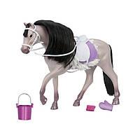 Аксессуар к кукле LORI Серая Андалузкая лошадь (LO38001Z)