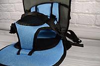 Детское автомобильное кресло, бескаркасное NY-26 Голубой, фото 6