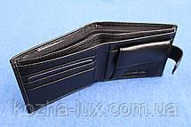 Портмоне мужское кожаное тонкое H_14 Hassion, натуральная кожа, фото 2