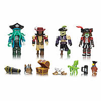 Фигурка Jazwares Roblox Mix & Match Set Pirate Showdown, набор 4 шт. (ROB0212)