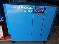 Винтовой компрессор Boge S29-2 - 3090 л/мин - 10 бар - 22 кВт - с Германии