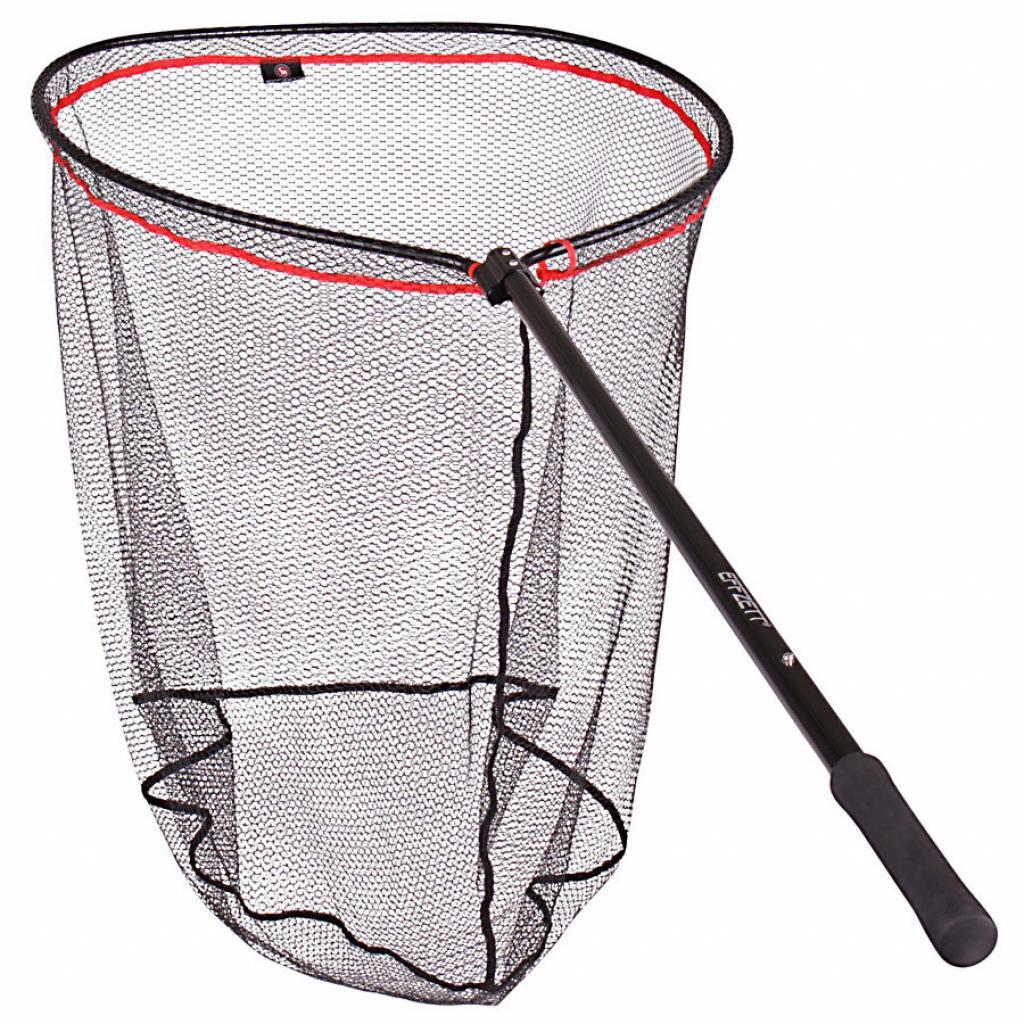 Подсака DAM Effzett Big Pike Landing Net ручка 1.20м голова 77см х 70см (56857)