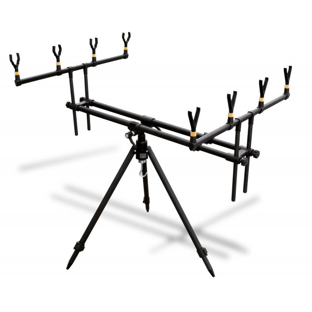 Подставка для удилища Lineaeffe Set для четырех удилищ + чехол 0,8/1,26м х 0,64м х 0,77 (6313033)