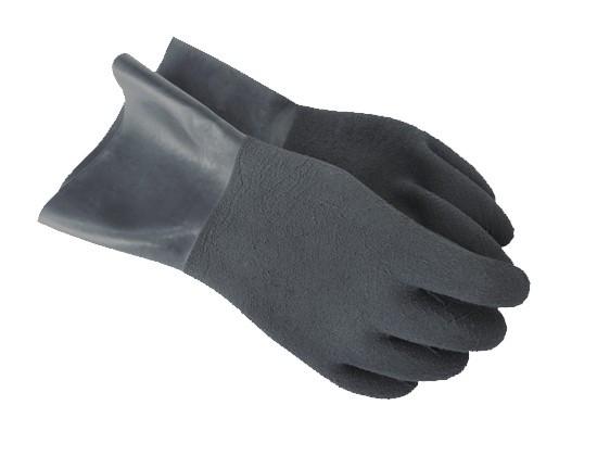 Резиновые перчатки (серые) Santi