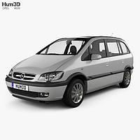 Лобовое стекло Opel Zafira A (Минивен) (1999-2005)