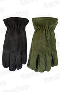 Перчатки флисовые однослойные