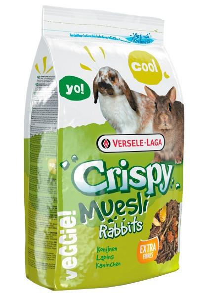 Корм для кроликів Хрусткі мюслі Верселе-Лага Versele-Laga Crispy Muesli Rabbits Cuni 1 кг