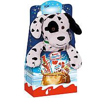Подарочный набор Kinder Maxi Mix с мягкой игрушкой