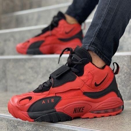 Мужские кроссовки в стиле Nike Speed Turf University Red/Black